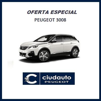 Peugeot 3008 GT Line BlueHDi 130 S&S 6 Vel MAN €6.2 Blanco Nacarado