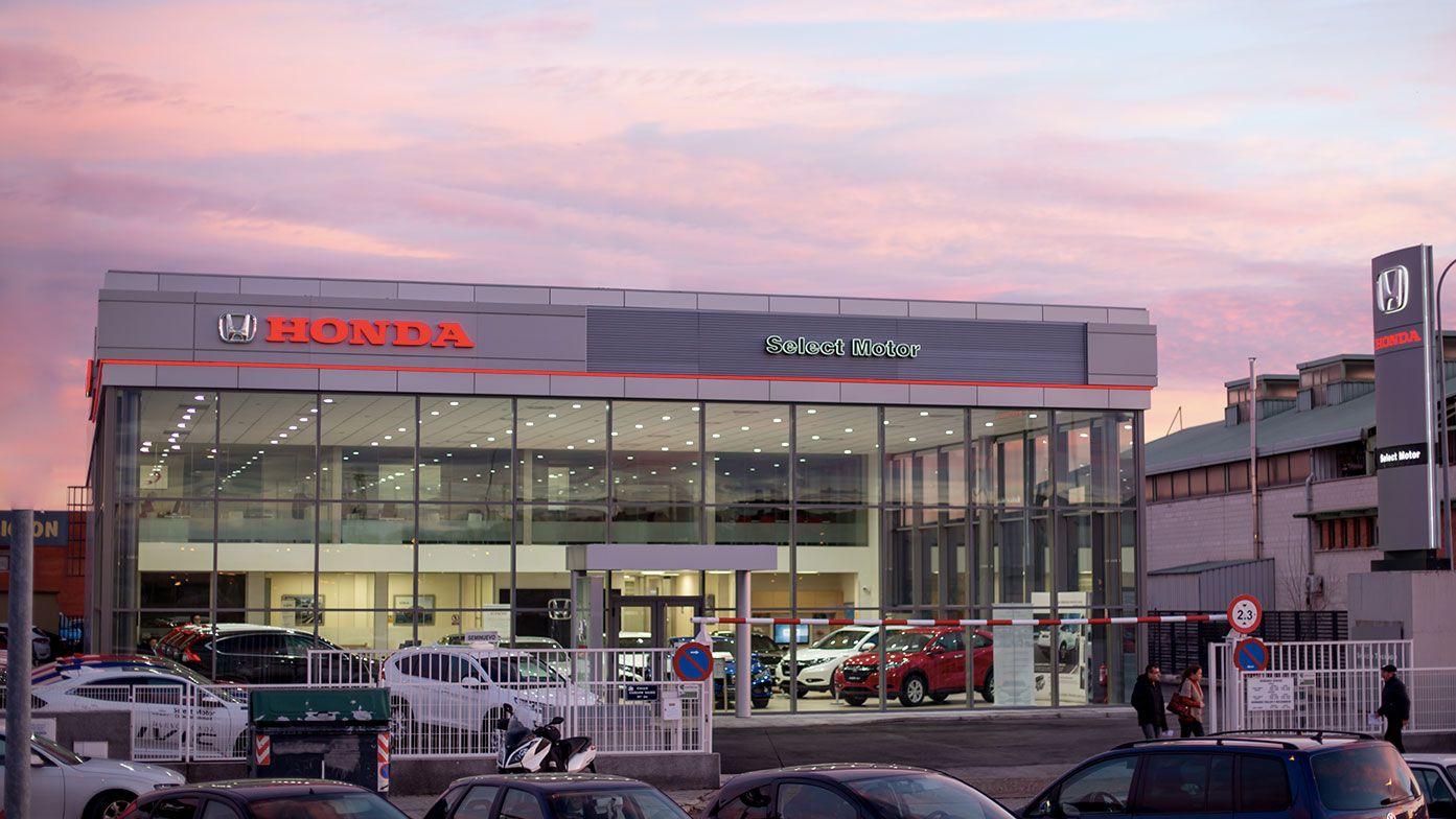 Todos los servicios Honda en Select Motor