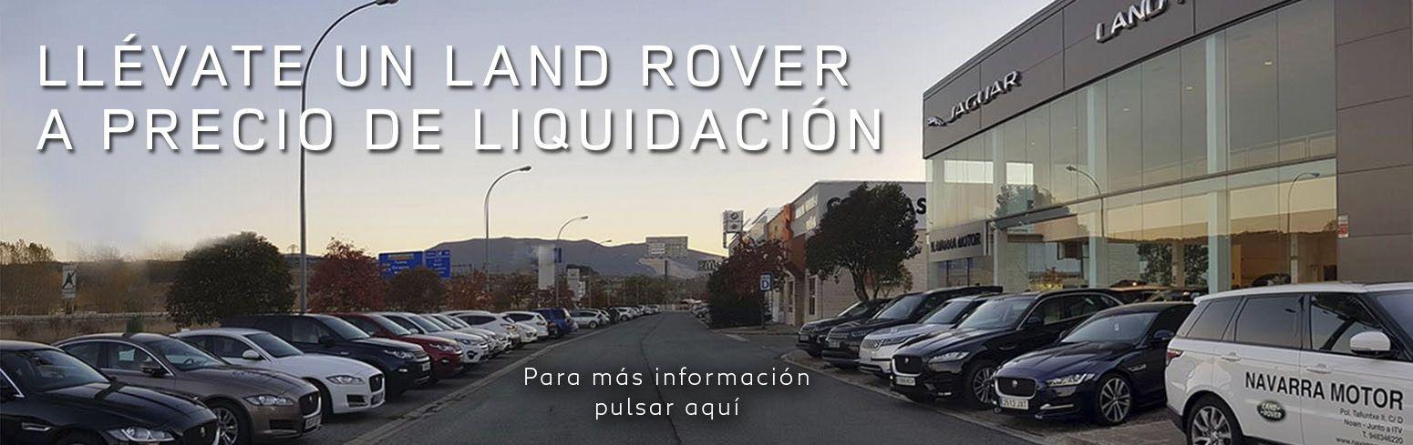 LLÉVATE  UN LAND ROVER A PRECIO  DE LIQUIDACIÓN