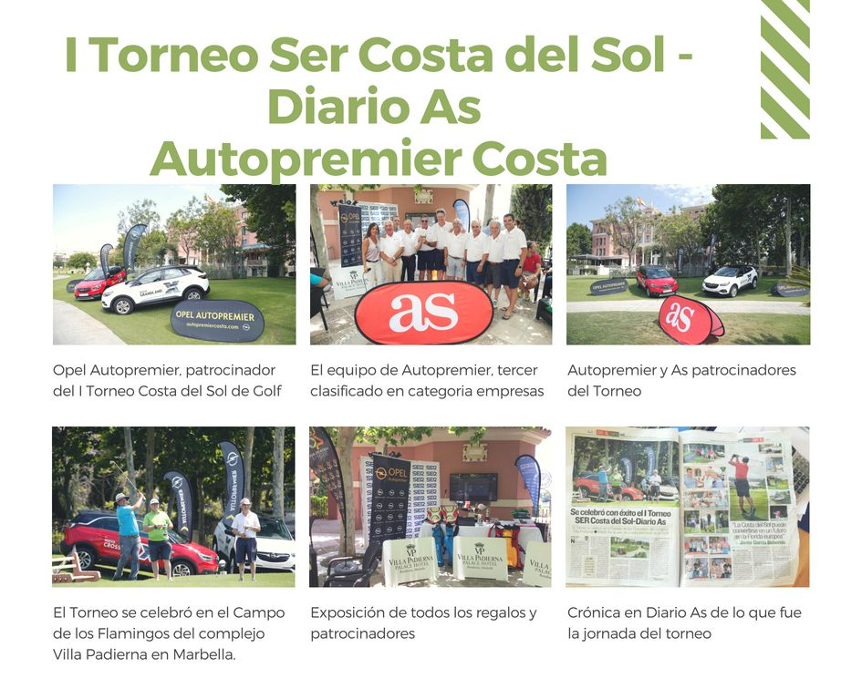 I Torneo Golf Ser Costa del Sol - As y Autopremier