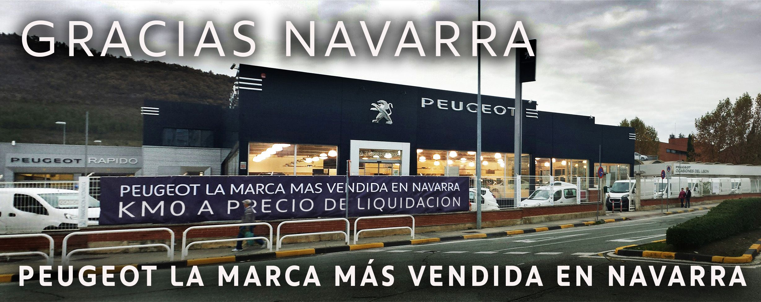 PEUGEOT LA MARCA MÁS VENDIDA EN NAVARRA