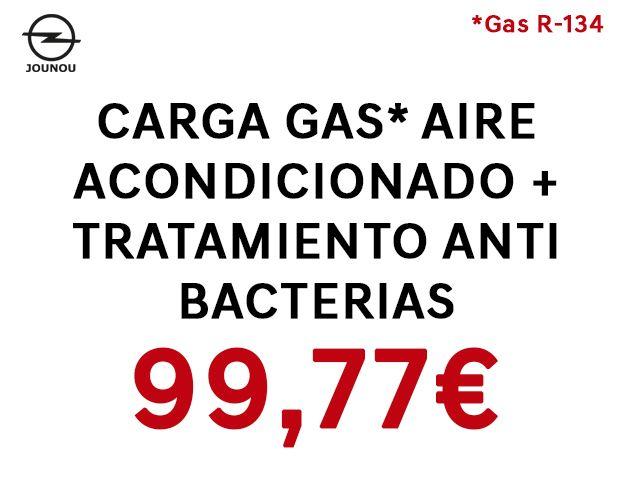 CARGA GAS AIRE ACONDICIONADO + TRATAMIENTO ANTIBACTERIAS