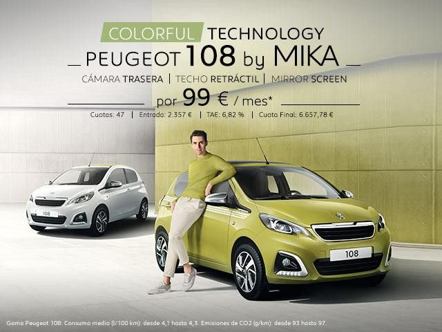 PEUGEOT 108 BY MIKA