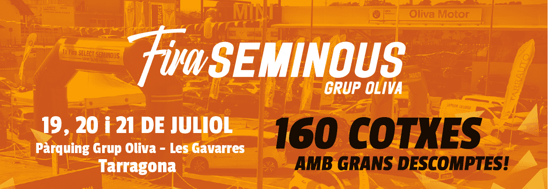 Fira Seminous Grup Oliva - 19, 20 i 21 de juliol al Pàrquing Grup Oliva