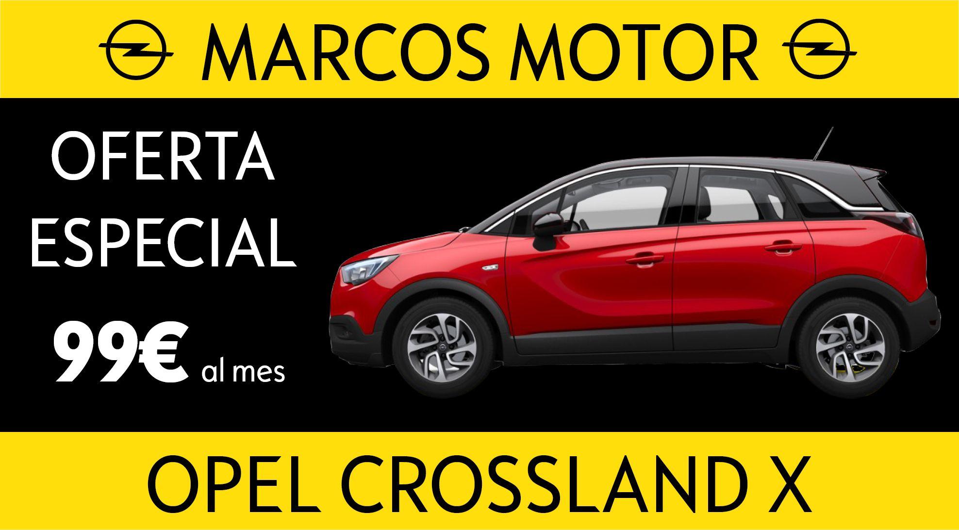 Opel Crossland X Offer € 99 per month