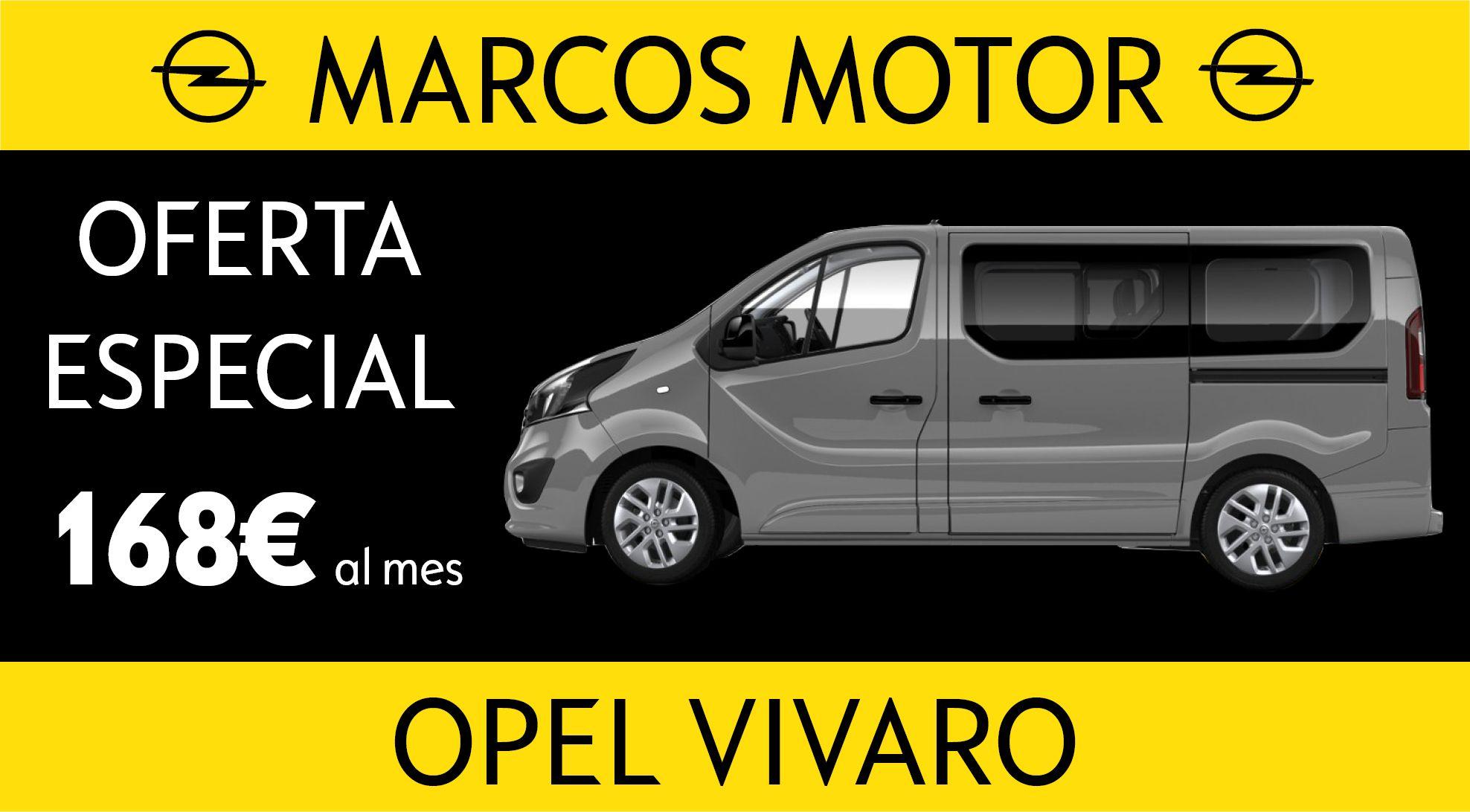 Opel Vivaro Offer € 168 per month