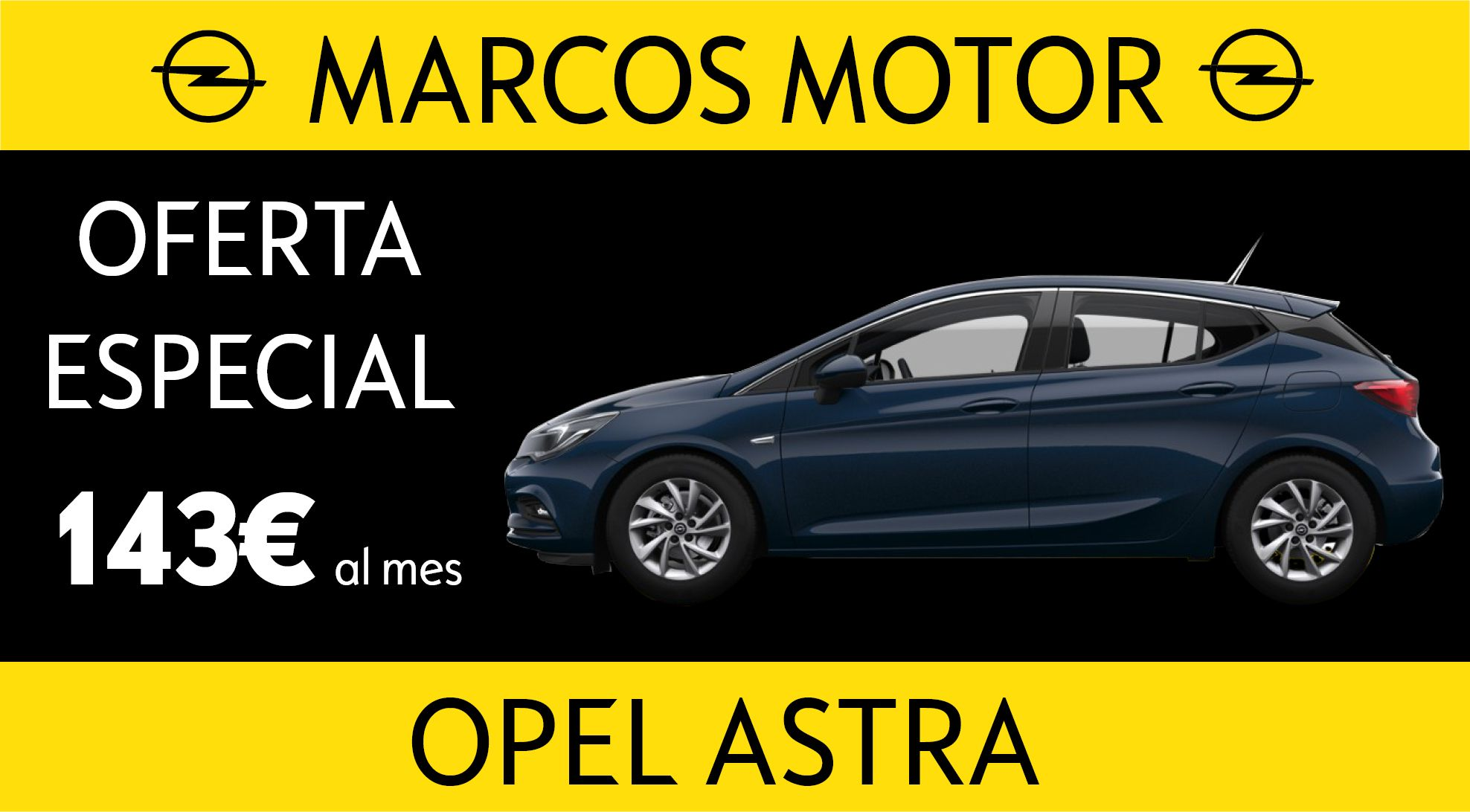Opel Astra Offer € 143 per month