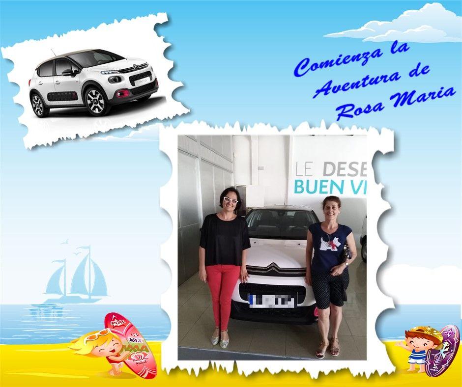 Rosa Mª Martínez ha elegido el exclusivo C3 Elle como su nuevo vehículo