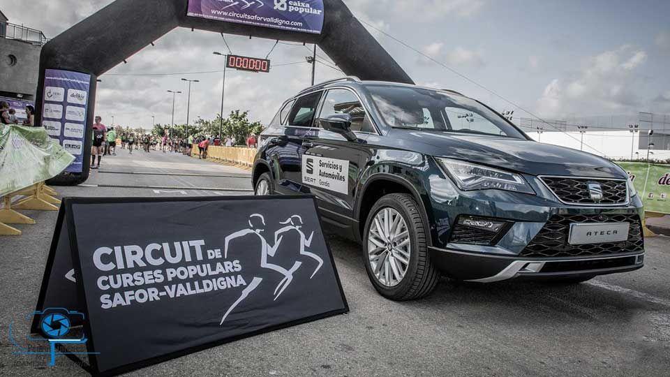 Servicios y Automóviles patrocinador del III Circuit de Curses Populars Safor-Valldigna