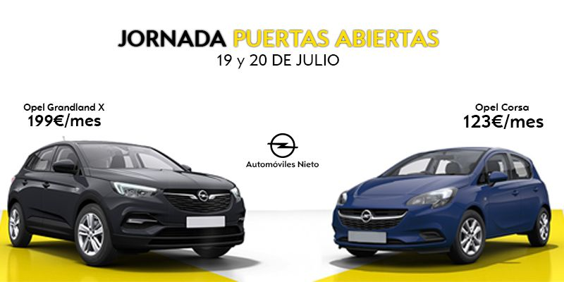 Jornada de puertas abiertas Opel Automóviles Nieto