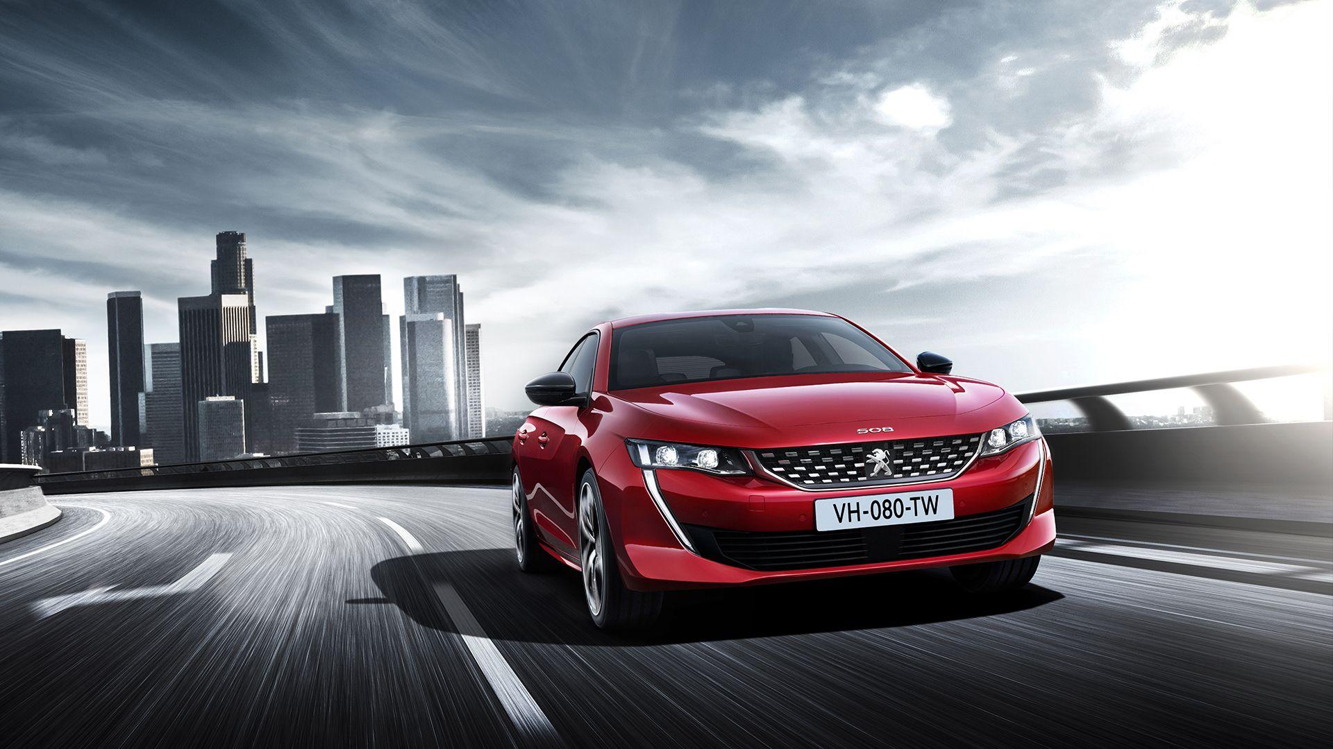 Nuevo 508, la berlina futurista de Peugeot