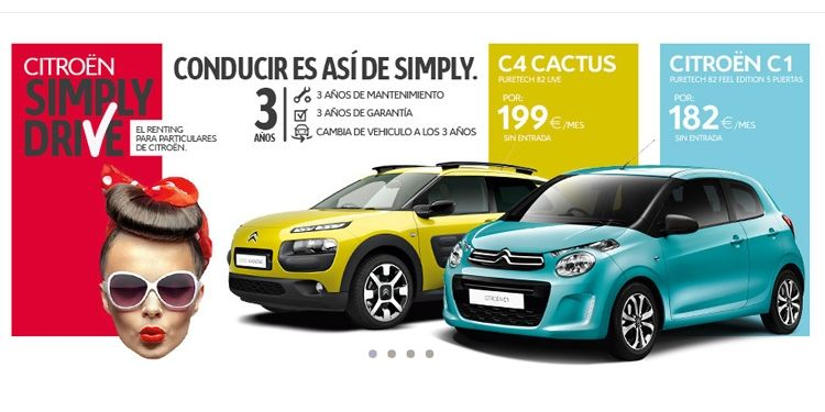 CITROEN ALTERNATIVA Y SIMPLYDRIVE