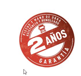 AMPLIACIÓN DE LA GARANTÍA A 2 AÑOS