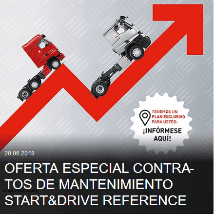 Oferta especial Contratos de Mantenimiento Start&Drive Reference
