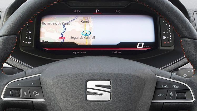 SEAT introduce su Digital Cockpit en el Arona y el Ibiza