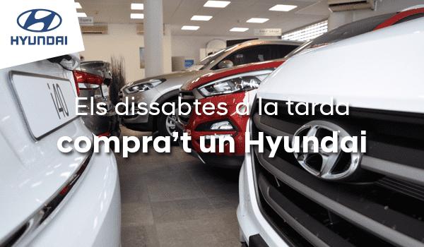 Los sábados de agosto por la tarde, comprate un Hyundai