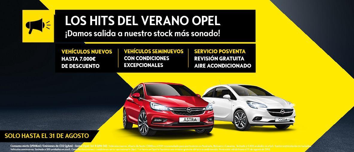 YA ESTÁN AQUÍ LOS HITS DEL VERANO DE GERMOTOR OPEL!!!