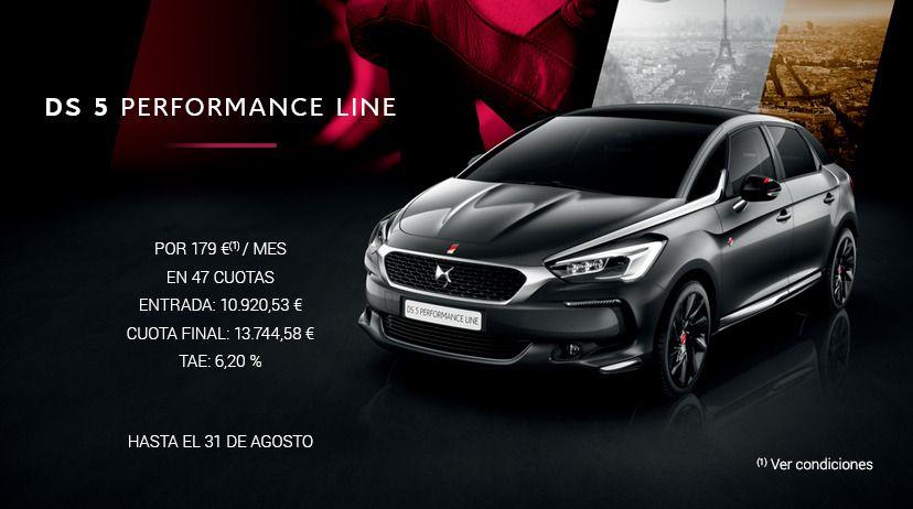 DS 5 BlueHDI 150 S&S 6V PERFORMANCE LinePOR 179 € AL MES*