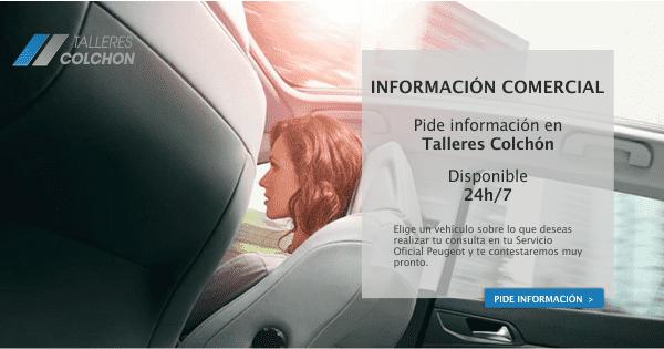 INFORMACIÓN SOBRE TODA GAMA PEUGEOT EN TALLERES COLCHÓN