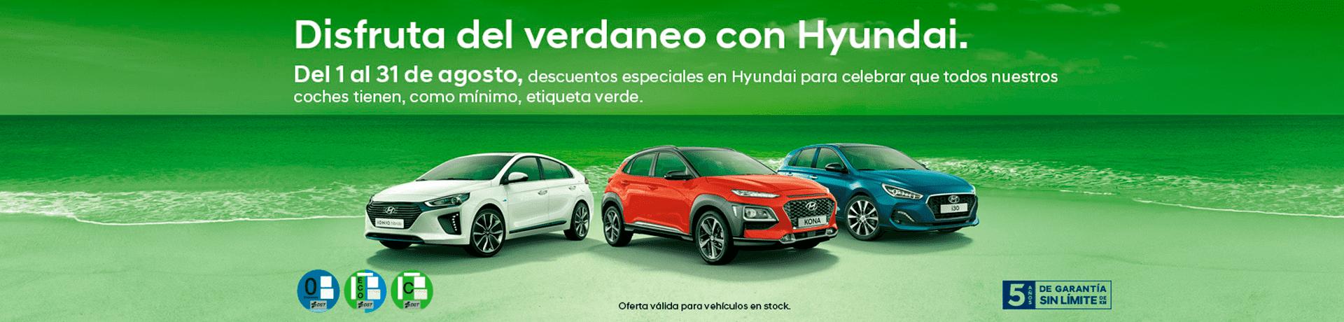 Disfruta del verdaneo con Hyundai