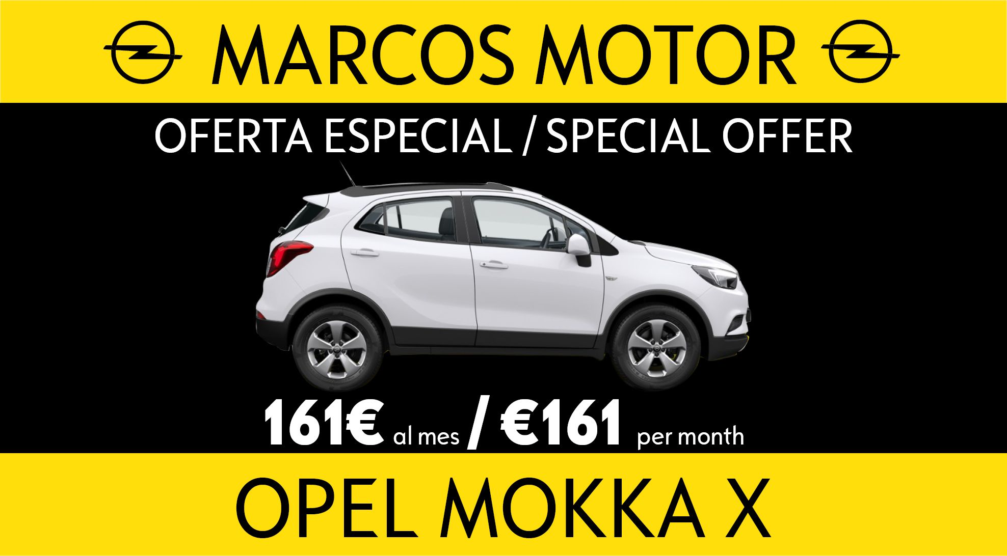 Opel Mokka Offer €161 per month