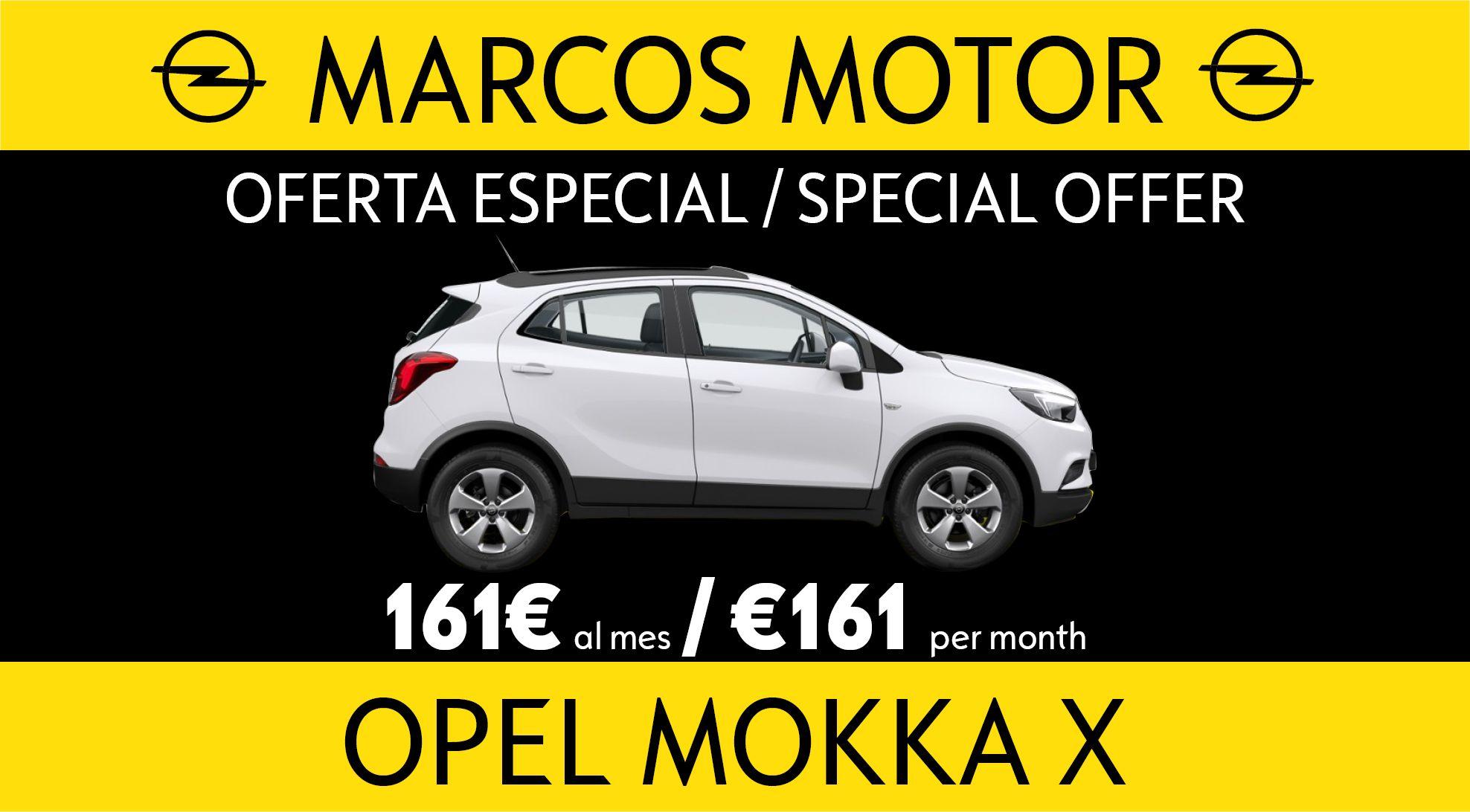 Oferta Opel Mokka X 161€ al mes