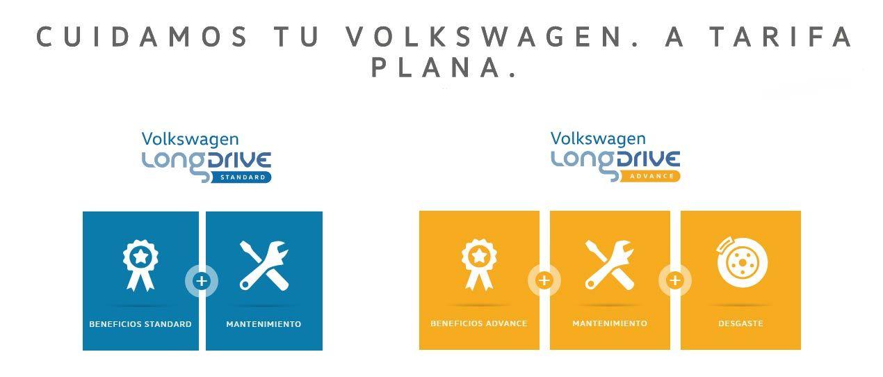 Cuidem el teu Volkswagen amb tarifa plana
