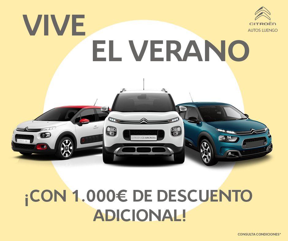 ¡Vive el Verano en Autos Luengo con 1.000€ de Descuento Adicional!