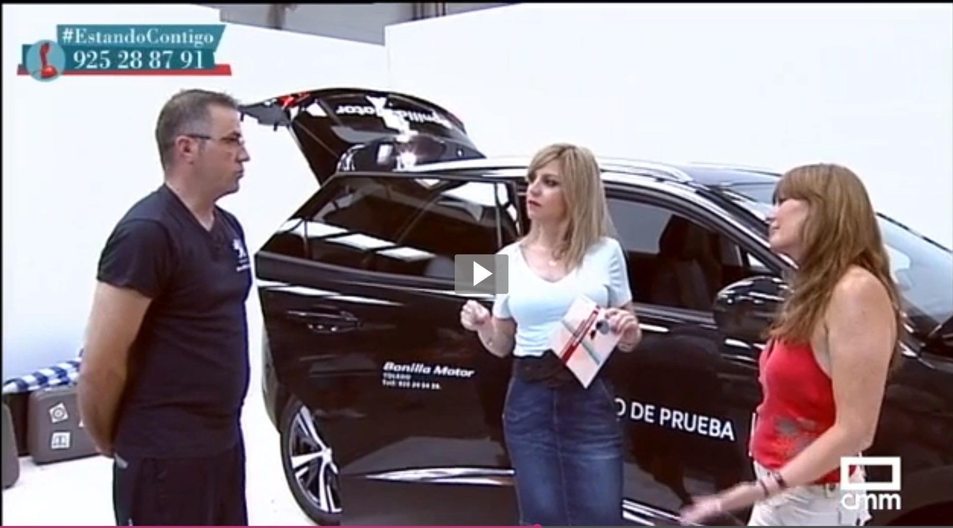 Bonilla Motor da Consejos para viajar en coche en Castilla la Mancha Televisión