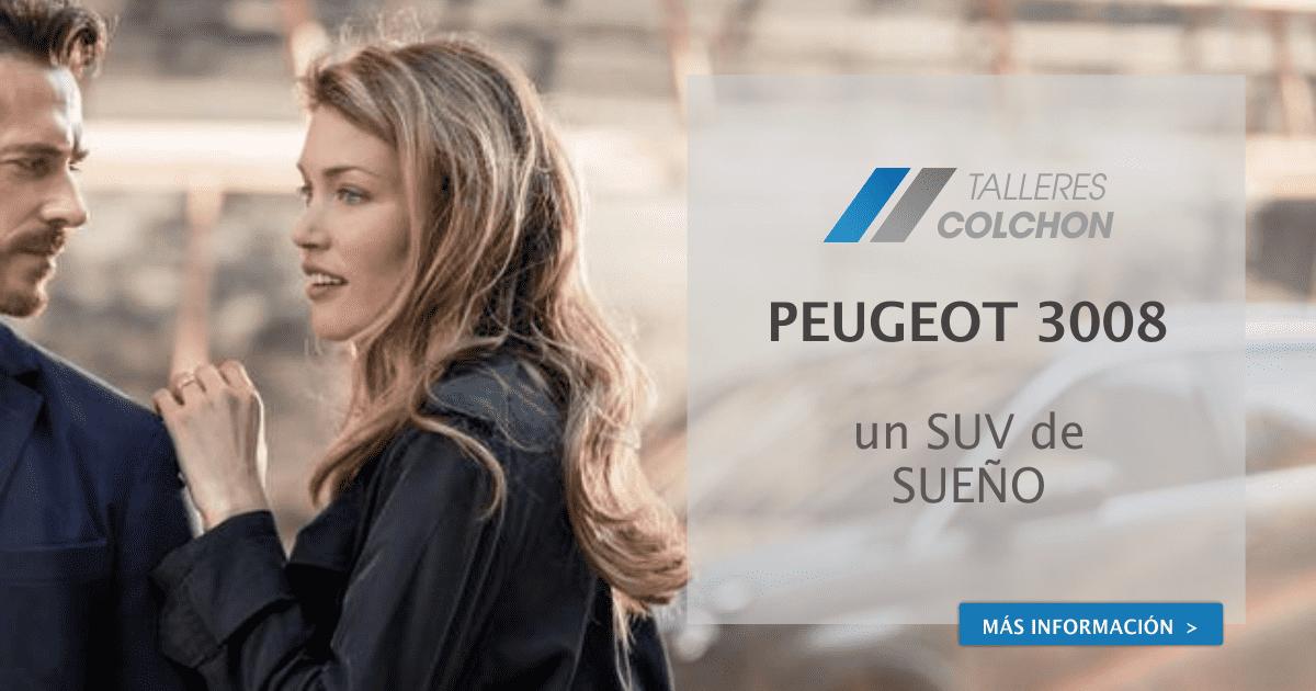 PEUGEOT 3008, UN SUV ELEGANTE DE SUEÑO