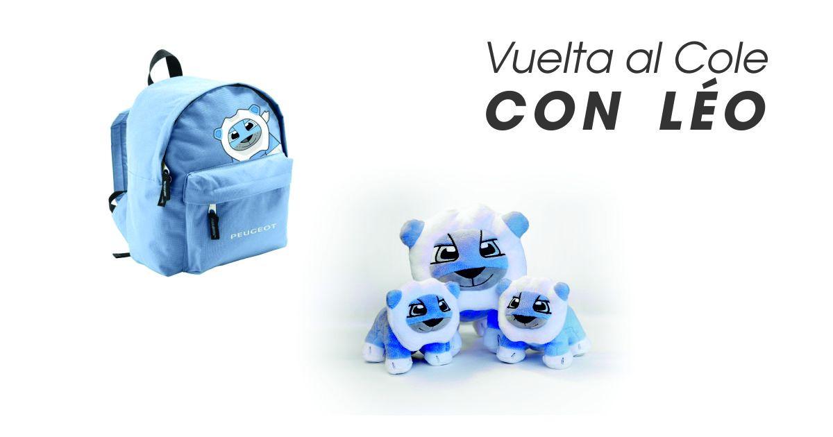 VUELTA AL COLE EN CHICLANA CON LÉO, LA MASCOTA DE PEUGEOT