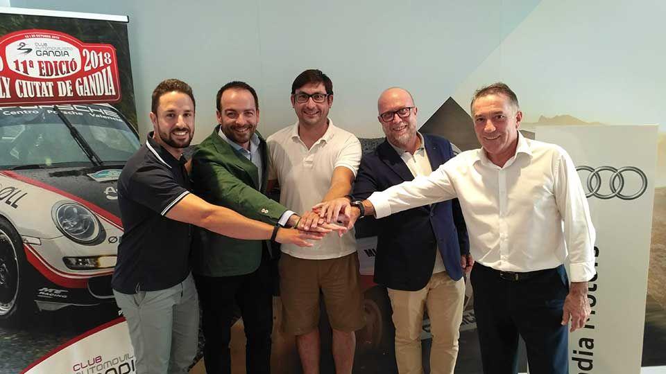 Audi Gandia Motors será el Patrocinador Oficial del Rally Ciutat de Gandia  y el Trofeo Villa de Pego 2018.