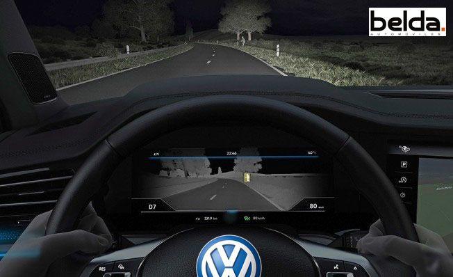 Vollswagen Touareg nos muestra como funciona su cámara de visión nocturna 2018