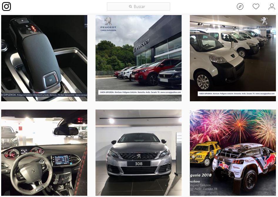 ¡Inauguramos Instagram de Carza Gipuzkoa!