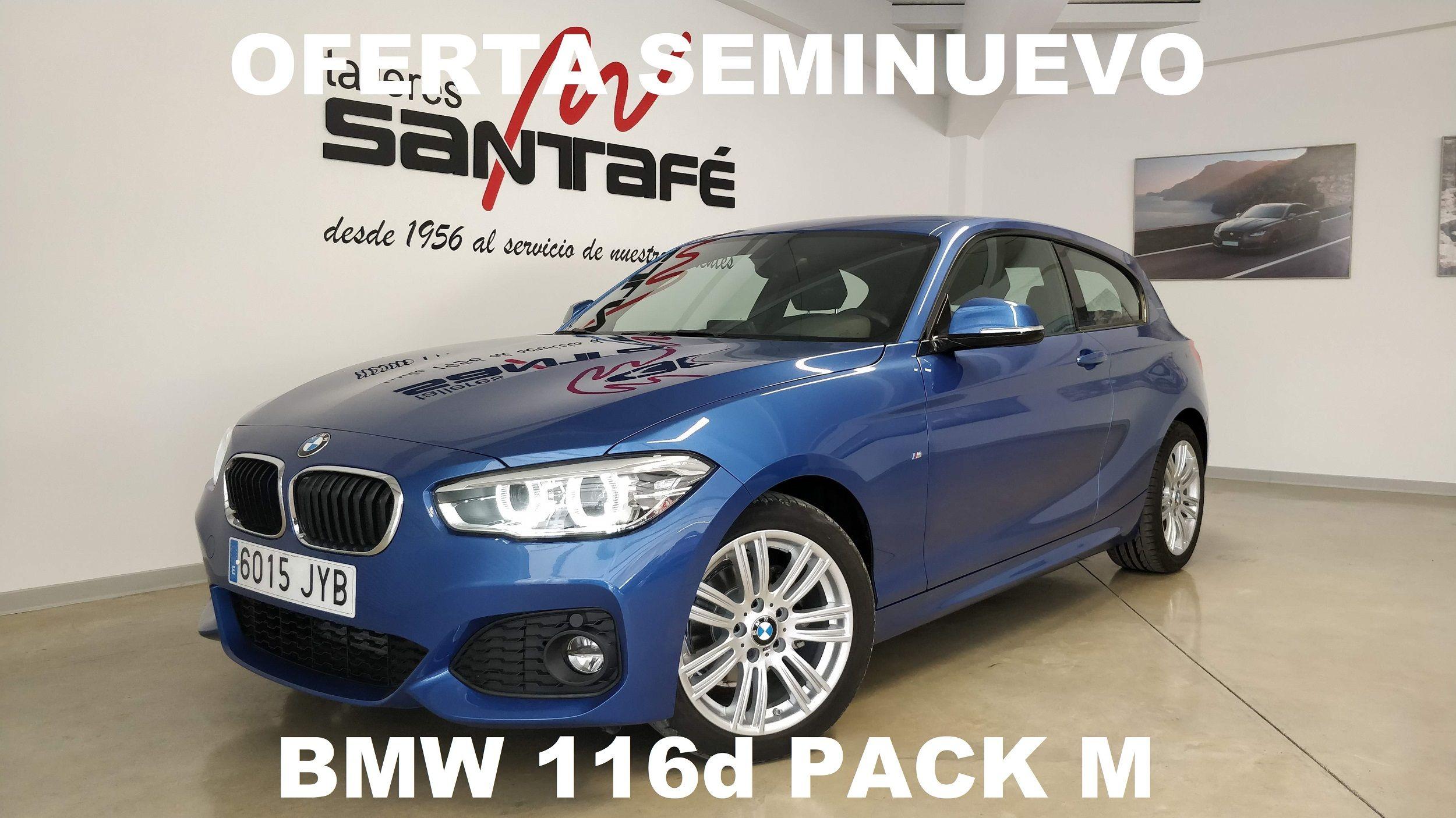 OFERTA SEMINUEVO: BMW 116d PACK M