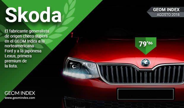 Škoda, la marca mejor valorada por los españoles.