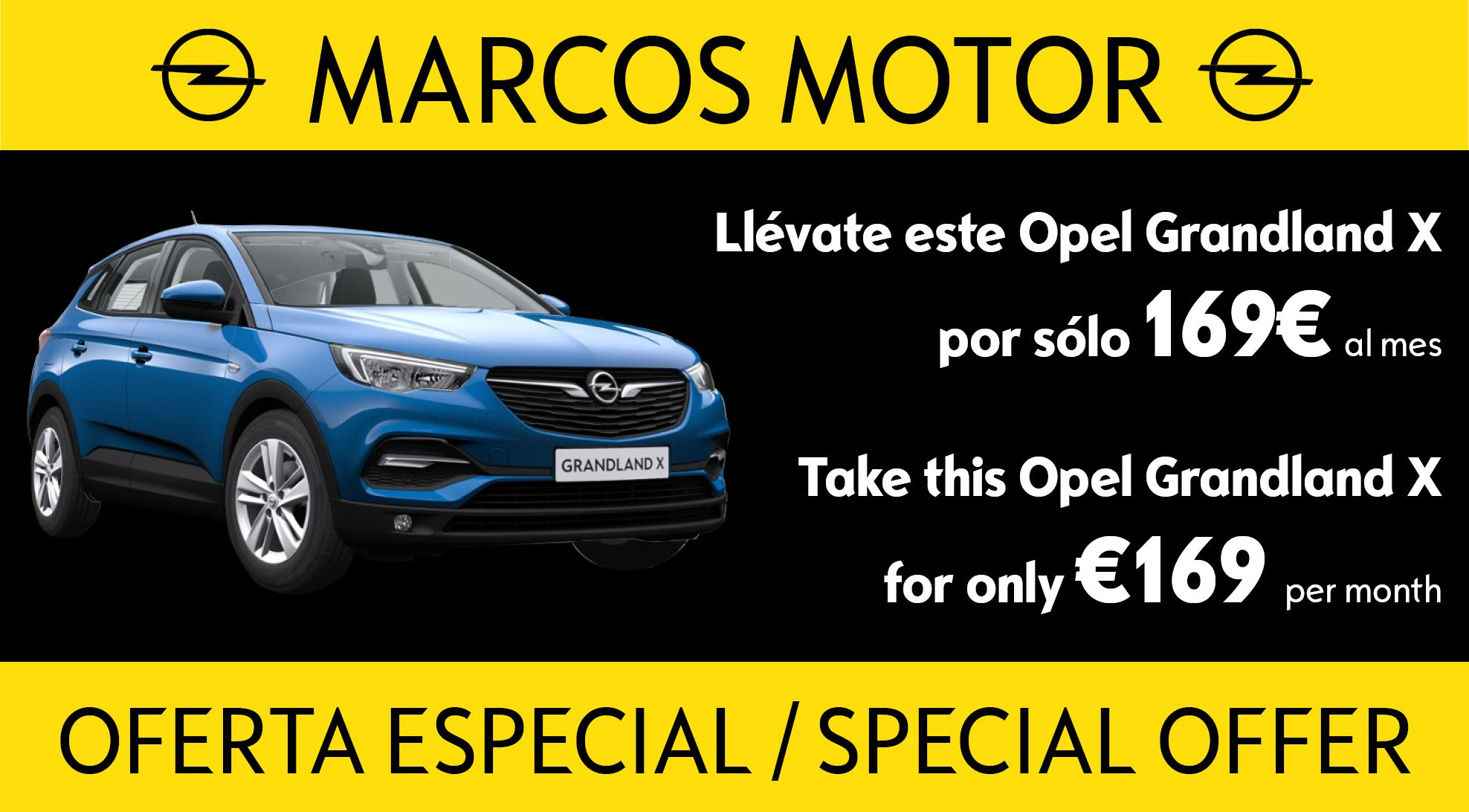 Opel Corsa Offer €169 per month