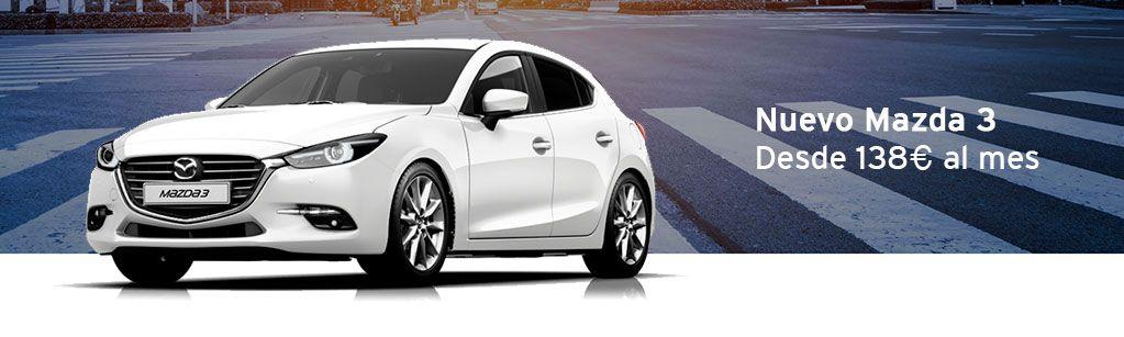 Mazda 3 desde 138€