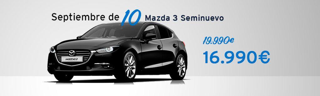 Mazda 3 Seminuevo desde 16.990€