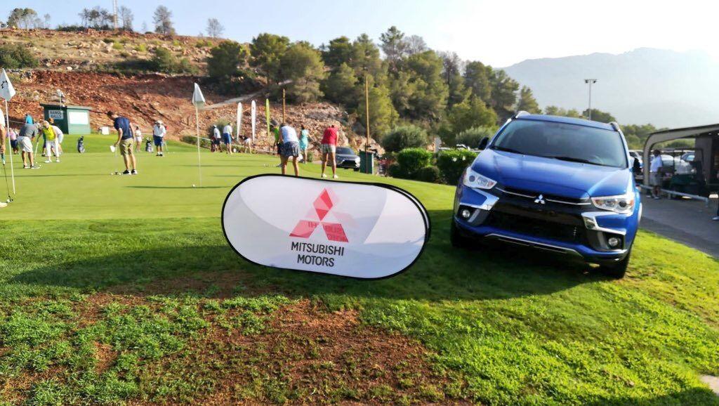 Mitsubishi Levante presente en el gran torneo de golf del verano en La Galiana