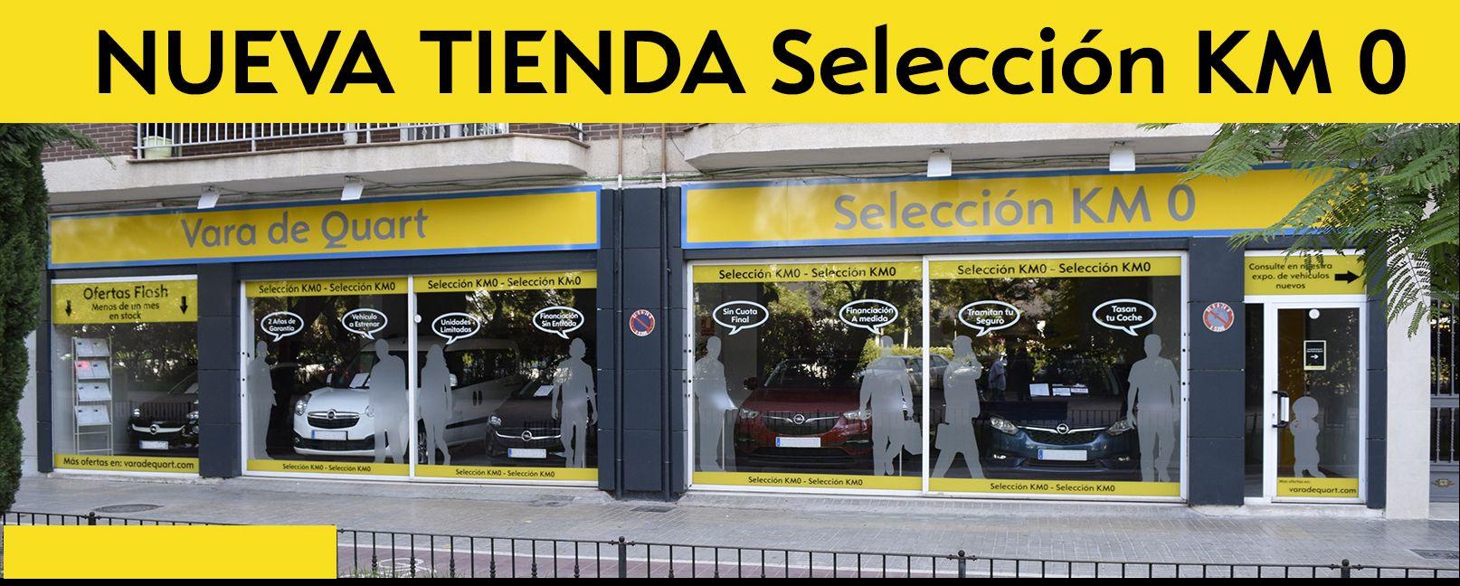 """Opel Vara de Quart Inaugura Nueva Exposición en Valencia: """"Selección KM 0"""""""
