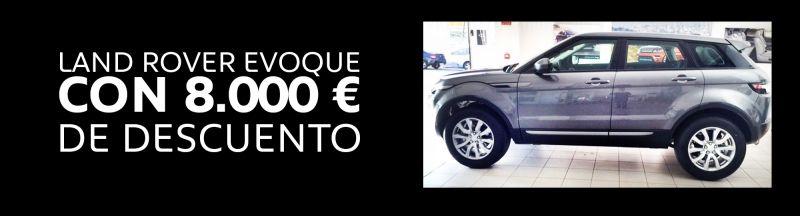 LAND ROVER EVOQUE CON 8.000 EUROS DE DESCUENTO