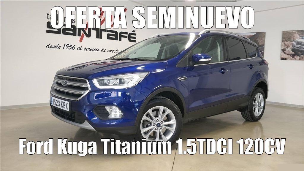 OFERTA SEMINUEVO: KUGA TITANIUM 120CV