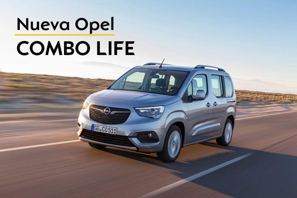 Ya llego el Nuevo Opel Combo Life