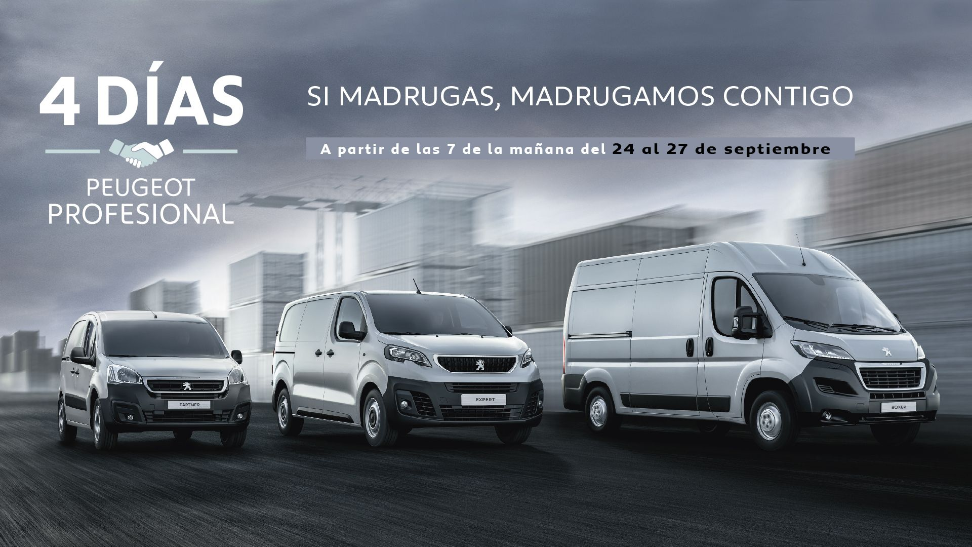 Vuelven los 4 días Peugeot Profesional del 24 al 27 de Septiembre