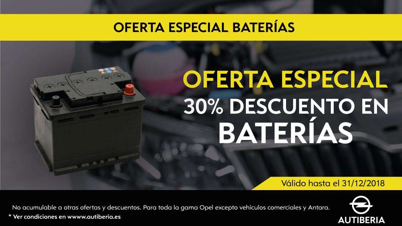 OFERTA ESPECIAL BATERIAS.