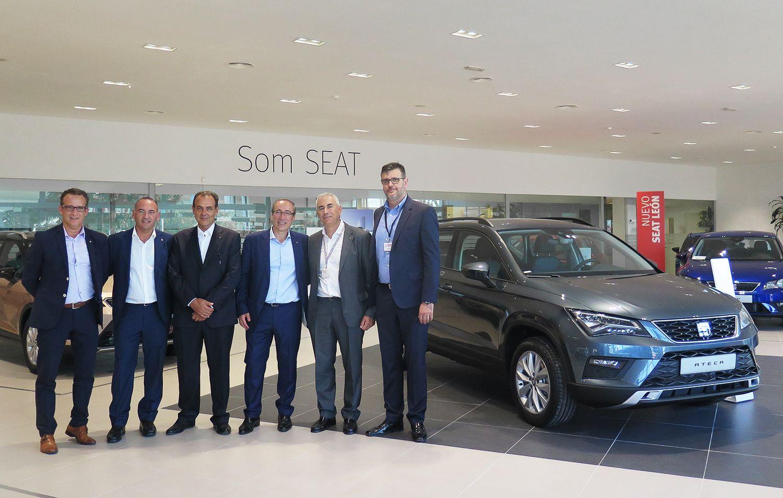 Visita a nuestras instalaciones del Director General de SEAT España, Mikel Palomera