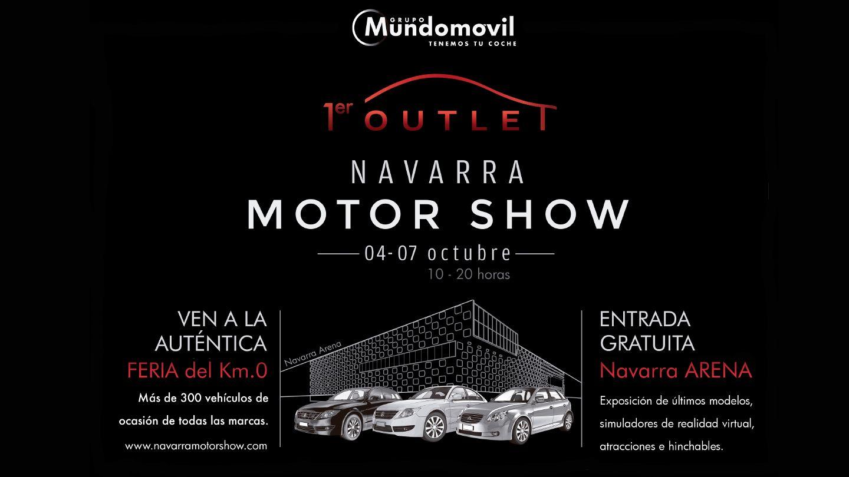 1er Outlet Navarra Motor Show en el Navarra Arena
