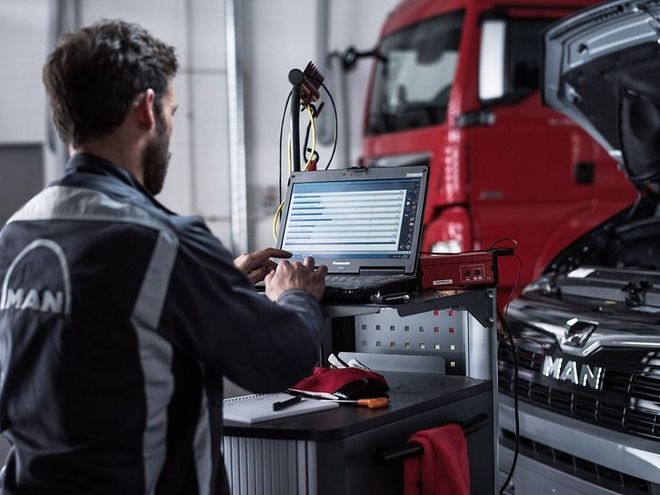 El camino hacia un taller digital: MAN Truck & Bus y Solera se asocian