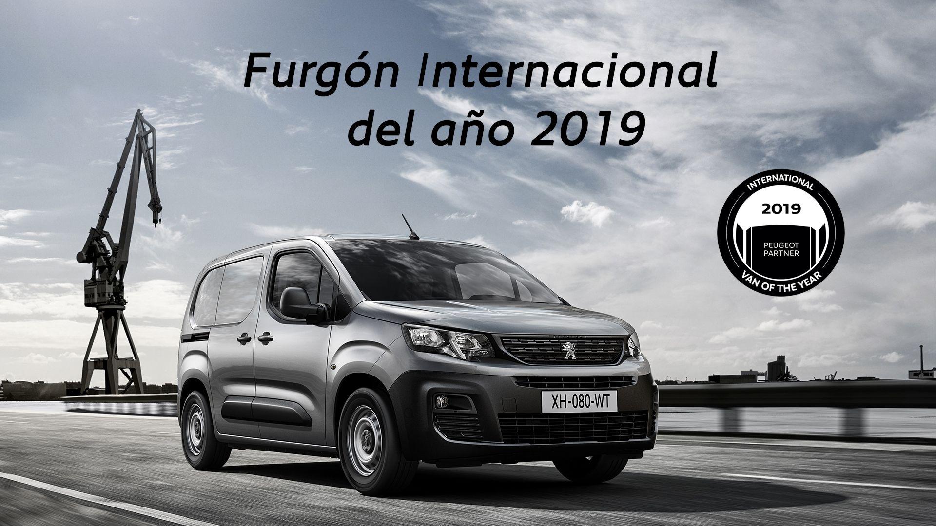 El nuevo Peugeot Partner se corona Furgón Internacional del año 2019